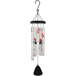Carson Cardinals Appear Windchime In Louisville, KY, In Kentucky, Schmitt's Florist