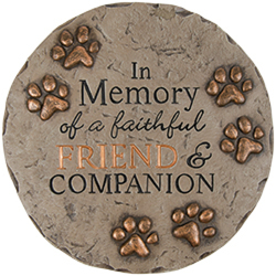 """Friend and Companion"" Garden Stone In Louisville, KY, In Kentucky, Schmitt's Florist"