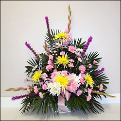 Traditional Funeral Basket In Louisville, KY, In Kentucky, Schmitt's Florist