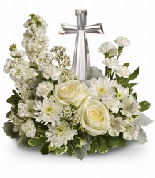 Crystal Cross Bouquet  In Louisville, KY, In Kentucky, Schmitt's Florist