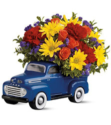 Teleflora's '48 Ford Pickup Bouquet  In Louisville, KY, In Kentucky, Schmitt's Florist