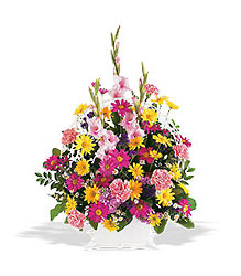 Spring Remembrance Basket In Louisville, KY, In Kentucky, Schmitt's Florist